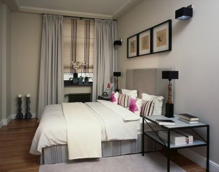 Классическая атмосфера в спальном помещении