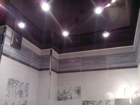 Дизайн перекрытия в ванной