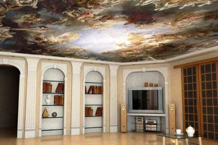 Привлекательная и функциональная потолочная поверхность