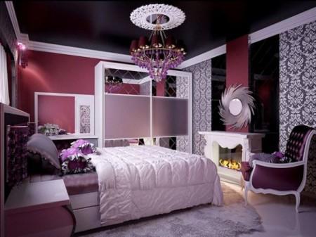 Использование темных оттенков матового потолка, фото