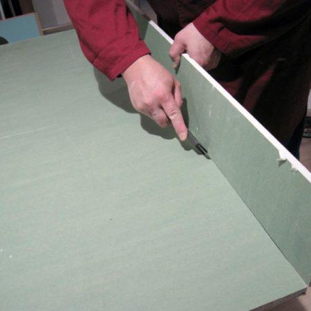 Как разрезать лист