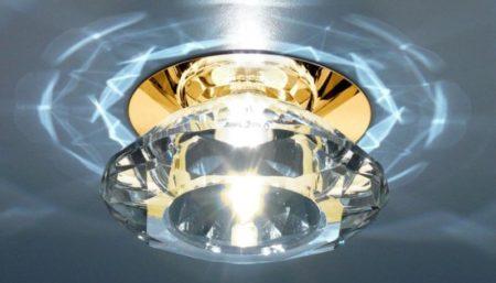 Фото установленных наружных светильников