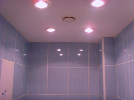 LED лампы в ванной комнате