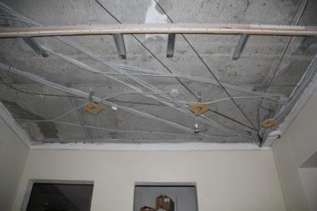 Фото каркаса для натяжного потолка