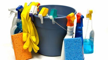 Средства для мытья глянцевого потолка