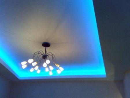 Потолок с подсветкой изнутри