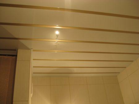 Готовый реечный потолок Бард