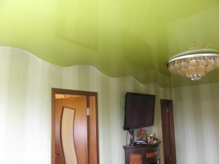Фото потолка волнообразной формы