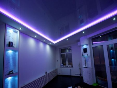 Фото люминесцентных ламп с подсветкой