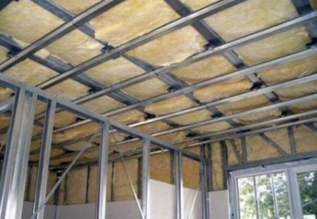 Каркас металлический для потолка и перегородок под ГКЛ
