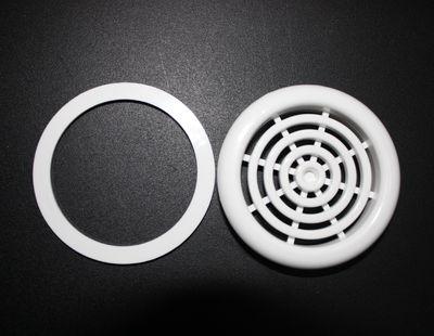 Термопластиковое кольцо и декоративная решетка