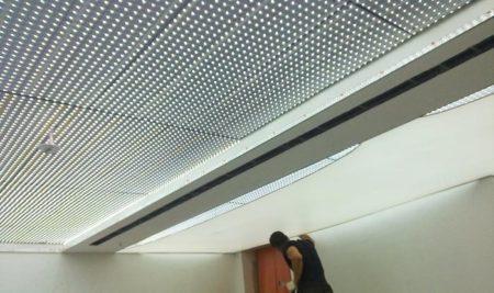 Частая установка светодиодных полос