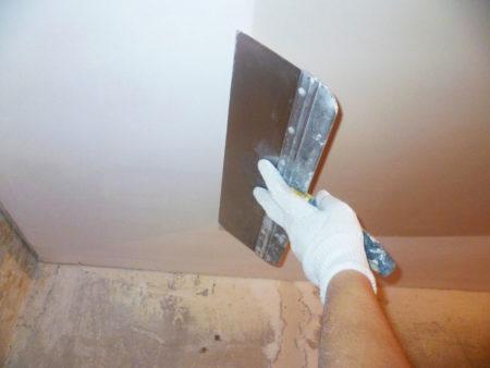 Выравнивание потолка под оракал