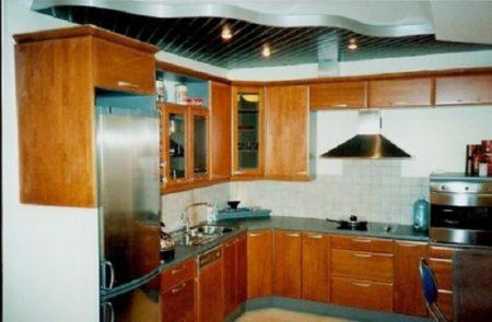 Кухонный оригинальный интерьер