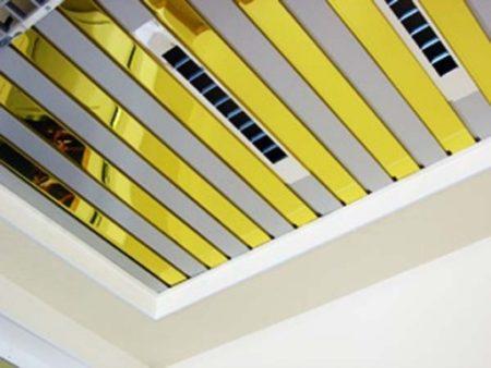 Вентиляционные отверстия, задекорированные в перекрытиях