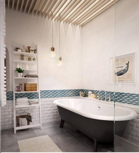 Как можно сделать интерьер ванной комнаты