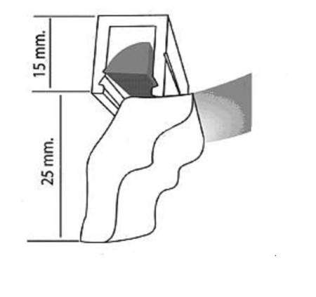 Схема декорирования плинтусом