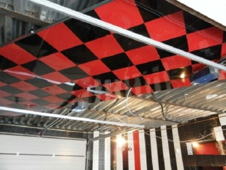 Монтаж потолочной поверхности Cesal