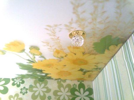 Рисунок, гармонирующий с покрытием стен