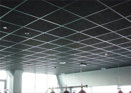 Кассетный модульный потолок