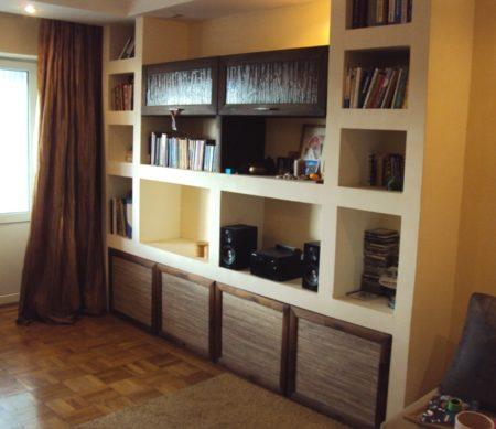Встроенный шкаф в интерьере